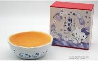 F8-4 有田焼チーズケーキ (ハローキティ柄) Sサイズ
