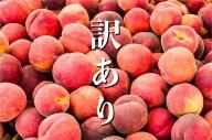 【2021年発送】 山梨県産  完熟桃 訳あり品2kg(4~8玉)
