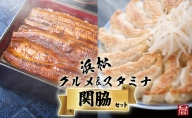 (SF28)浜松グルメ&スタミナセット「関脇」浜名湖うなぎ大蒲焼8尾+白焼き+肝焼き+浜松餃子90粒