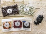 ぶどう房•チョコ掛け2種•ドライフルーツ3種セット