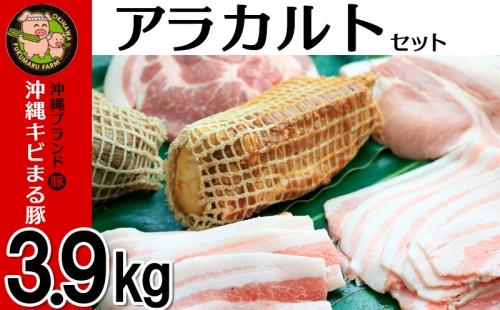 沖縄キビまる豚 アラカルトセット(3.9kg) | au PAY ふるさと納税