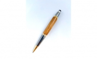 天然屋久杉ボールペン(0.5mm、タッチペン付き)1本