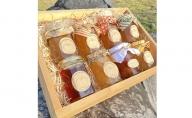 【無添加】桃山ぶどう園の手作りくだものジャム8種セット 富山 魚津 りんごジャム ぶどうジャム 詰め合わせ