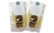 オリーヴの森 小豆島のそうめんパスタ オリーヴオイル仕立て あさりと魚卵たっぷりの佃煮風ソース 2袋入り