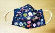 和柄マスク(10枚)桜