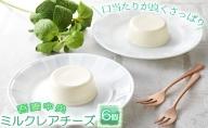 吾妻中央ミルク レアチーズ 6個セット