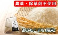 農薬・除草剤不使用で栽培したあきたこまち「郷山のお米 2kg」(精米)