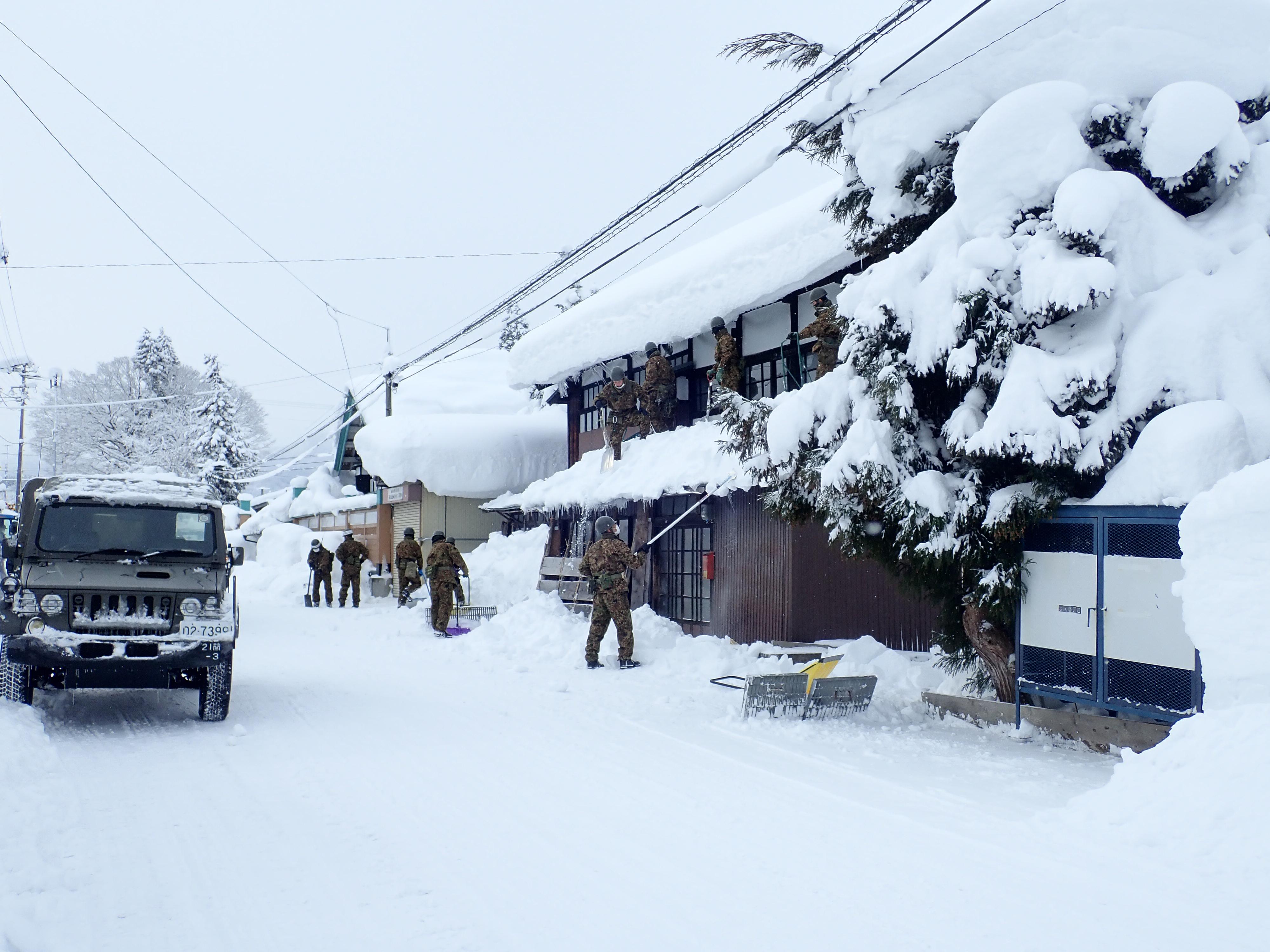 令和3年1月豪雪